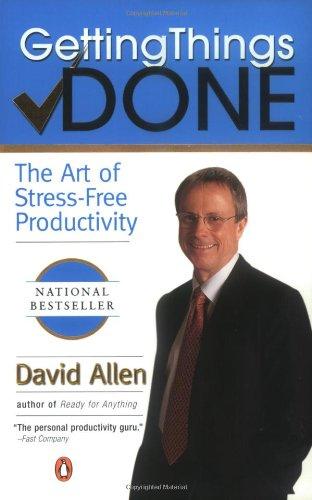 (書影:Getting Things Done: The Art of Stress-Free Productivity)