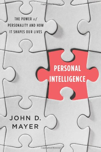 (書影:Personal Intelligence: The Power of Personality and How It Shapes Our Lives)