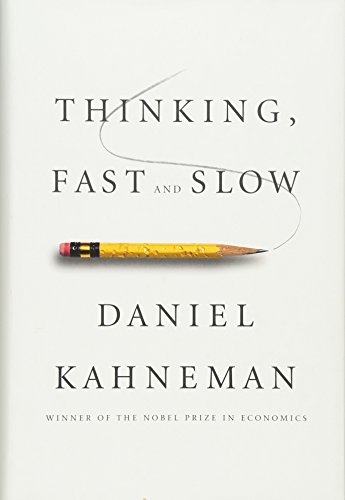 (書影:Thinking, Fast and Slow)