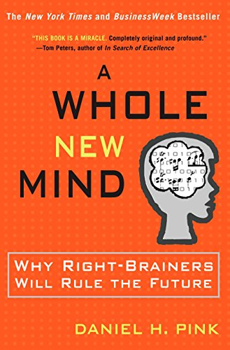 (書影:A Whole New Mind: Why Right-Brainers Will Rule the Future)