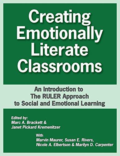 (書影:Creating Emotionally Literate Classrooms: An Introduction to the Ruler Approach to Social and Emotional Learning)