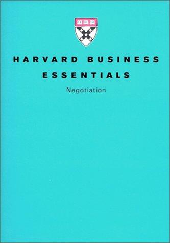 (書影:ハーバード・ビジネス・エッセンシャルズ〈5〉交渉力 (ハーバード・ビジネス・エッセンシャルズ 5))